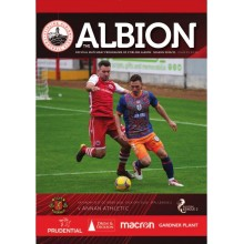 Match Day Programme - 31st Oct 2020 vs Annan Athletic