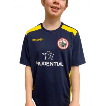 Retro Away Top Navy for 2017/18 Season - Junior