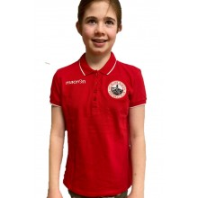 Desi Red Polo Shirt -  Ladies