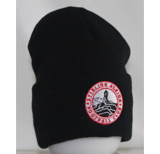 Black Turn Up Beanie